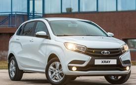 """Cận cảnh """"Range Rover Evoque của Nga"""" Lada XRAY siêu rẻ"""