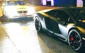Lamborghini Aventador giống của Cristiano Ronaldo bị cảnh sát tịch thu