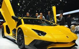 Lamborghini Aventador SV sắp có thêm phiên bản mui trần