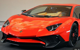 Siêu xe Lamborghini Aventador SV ra mắt tại đảo quốc Sư tử