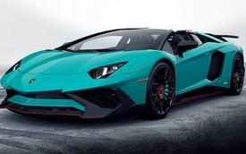 Lamborghini Aventador SV Roadster lần đầu tiên lộ diện