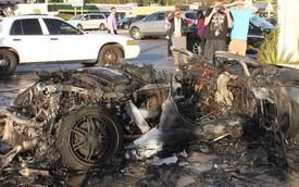 Suýt chết cháy khi lái thử siêu xe Lamborghini Gallardo