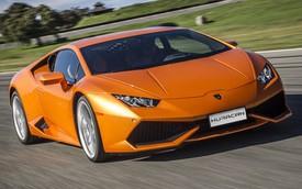 Siêu xe Lamborghini Huracan nâng cấp nhẹ nhàng, giá không đổi