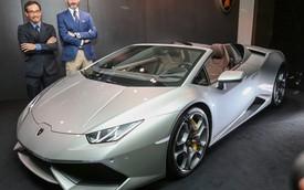 Siêu xe Lamborghini Huracan Spyder ra mắt thị trường Đông Nam Á