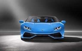 Siêu xe Lamborghini Huracan mui trần chính thức trình làng