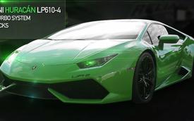 Siêu xe Lamborghini Huracan tăng áp kép đầu tiên trên thế giới
