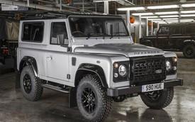 Land Rover Defender đặc biệt do toàn người nổi tiếng chung tay lắp ráp