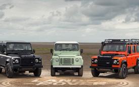 """Land Rover """"chia tay"""" Defender thế hệ hiện tại bằng 3 phiên bản mới"""