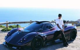Lewis Hamilton gặp tai nạn khi lái siêu xe hàng độc Pagani Zonda 760 LH