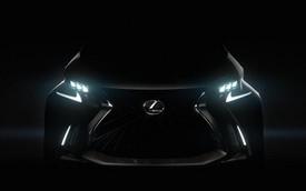 Lexus LF-SA vô tình được hé lộ trước giờ G