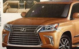 SUV hạng sang Lexus LX 570 2016 lần đầu lộ diện