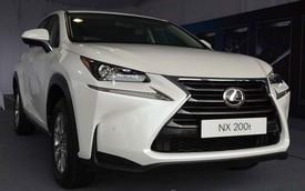 Lộ thông tin Lexus NX 200T, chiếc Lexus rẻ nhất Việt Nam