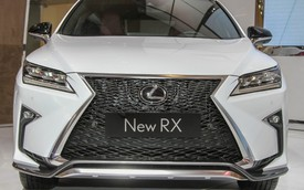 """Chiêm ngưỡng SUV sang Lexus RX 2016 """"bằng xương, bằng thịt"""""""