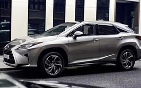SUV hạng sang Lexus RX 2016 tiết kiệm nhiên liệu như xe cỡ nhỏ