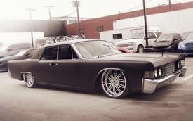 Justin Bieber biến Lincoln Continental thành xe nằm sát mặt đất