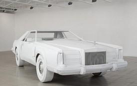 """Lincoln Continental bằng bìa các-tông """"thật đến từng mm"""""""