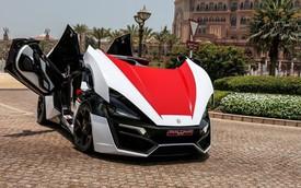 Cận cảnh siêu xe cảnh sát đắt hàng đầu thế giới Lykan Hypersport