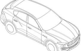 SUV hạng sang Maserati Levante lộ diện qua hình ảnh phác họa