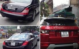 """""""Bộ sưu tập"""" siêu xe, xe sang biển giả gây chấn động tại Việt Nam"""