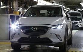 Xe crossover cỡ nhỏ Mazda CX-3 mới có giá dưới 20.000 USD