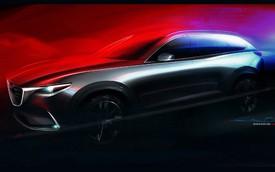 Crossover 3 hàng ghế Mazda CX-9 thế hệ mới lần đầu lộ diện