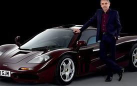 """""""Mr. Bean"""" lãi đậm khi bán siêu xe McLaren F1 hai lần gặp nạn"""