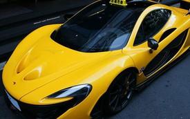 """Thích """"chơi trội"""", đại gia gắn biển taxi cho siêu xe McLaren P1"""