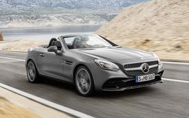 Mercedes-Benz SLC 2017 – Xe mui trần hạng sang thay thế SLK