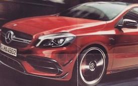 Mercedes-Benz A45 AMG 2016 lộ diện sớm, mạnh mẽ hơn trước
