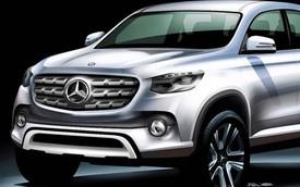 Mercedes-Benz cũng sản xuất xe bán tải