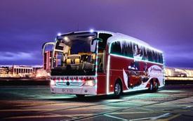 """Mercedes-Benz Christmas Travego – Xe buýt """"độc"""" dành cho dịp Giáng sinh"""