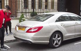 Mercedes-Benz nạm hàng triệu viên đá của nữ sinh Nga tái xuất