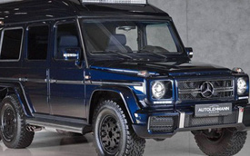 Mercedes-Benz G500 Schultz – SUV 6 bánh của một tổng thanh tra quân đội