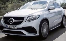 Mercedes-Benz GLE 63 AMG Coupe hoàn toàn mới lộ diện