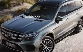 Hình ảnh rõ hơn của SUV hạng sang cỡ lớn Mercedes-Benz GLS