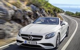 Mercedes-Benz công bố giá bán của S-Class 2016 mui trần