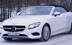 Diện kiến sớm Mercedes-Benz S-Class mui trần hoàn toàn mới