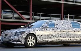 Mercedes-Benz S-Class Pullman được xác nhận sắp ra mắt