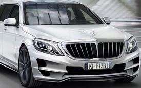 Mercedes-Benz S-Class XXL – Limousine bọc thép cho nhà giàu