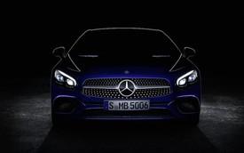 Mercedes-Benz SL Roadster 2017 lộ mặt trước giờ ra mắt