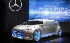 Mercedes-Benz Vision Tokyo - Xe van cho thế hệ 9X
