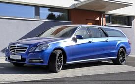 Mercedes-Benz  E-Class Wagon kéo dài: Không hề giống xe tang