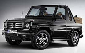 Mercedes-Benz vẫn tha thiết với phân khúc SUV mui trần