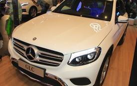 Cận cảnh xe sang thay thế Mercedes-Benz GLK ngoài đời thực