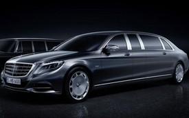 Limousine cho nhà giàu Mercedes-Maybach Pullman trình làng sớm