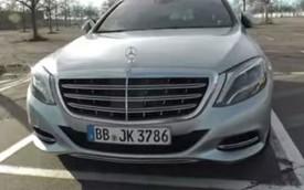 """""""Mục sở thị"""" Mercedes-Maybach S-Class tại bãi đỗ xe"""
