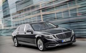 Xe siêu sang Mercedes-Maybach S600 chính thức chào thị trường Việt