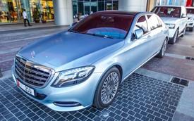 Bắt gặp xe siêu sang Mercedes-Maybach S600 đầu tiên tại Dubai