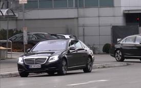 Bắt gặp Mercedes-Benz S-Class 2017 trần trụi trên đường thử
