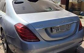 Xe tiền tỷ Mercedes-Benz S400 bị ném gạch ở Bình Thuận